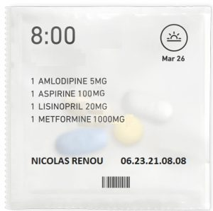Préparation de doses à administrer